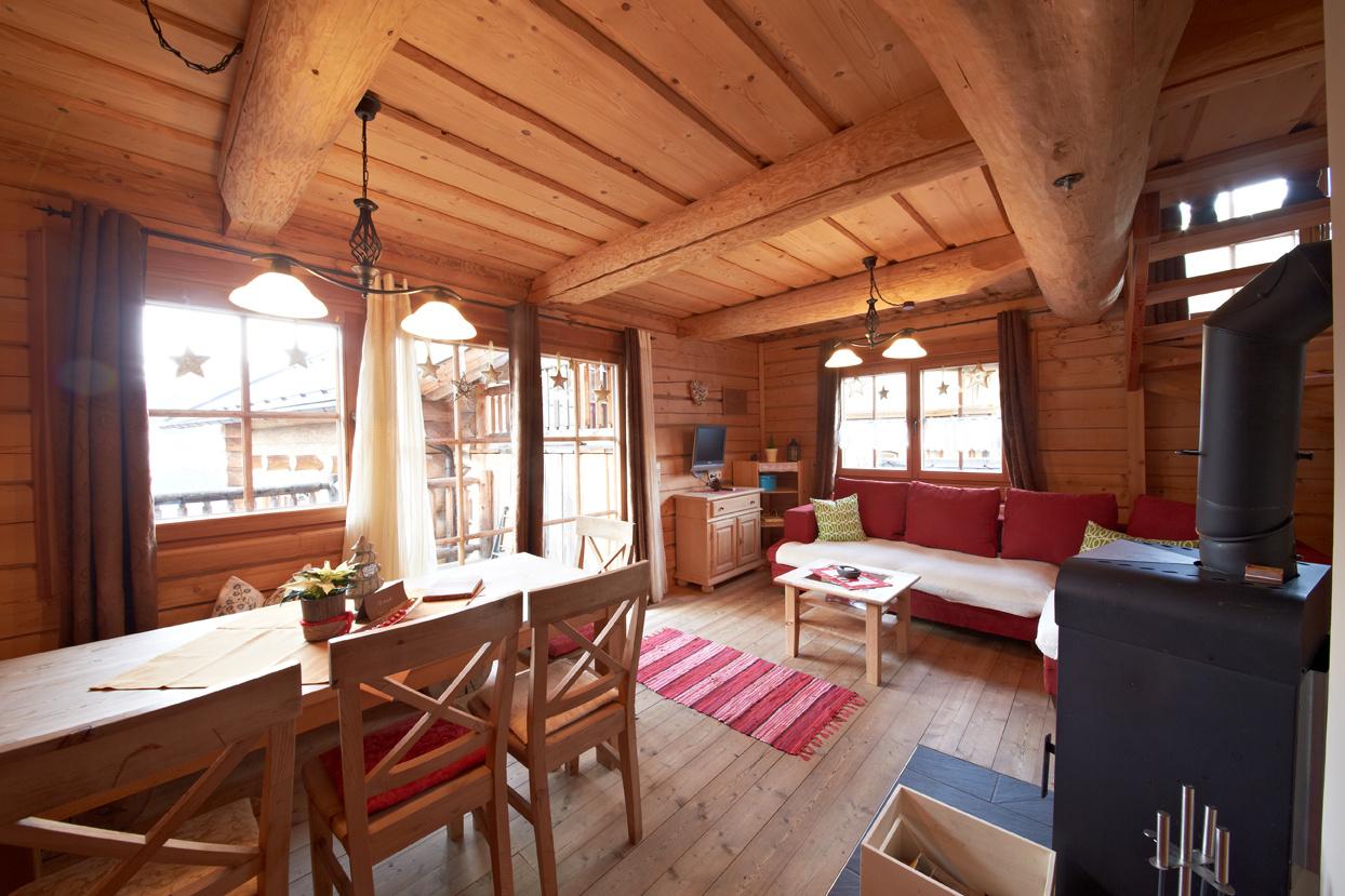 Chalets Blockhaus Saalbach Hütte 1 Holidayflats24