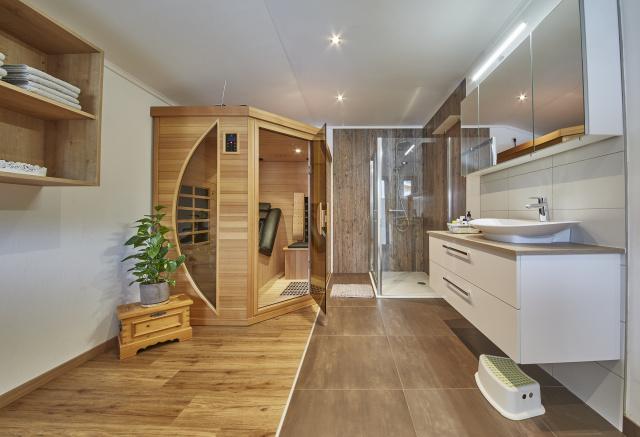 Infrared cabine